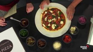 Pizza with locally-sourced ingredients new to Cilantro's fall menu